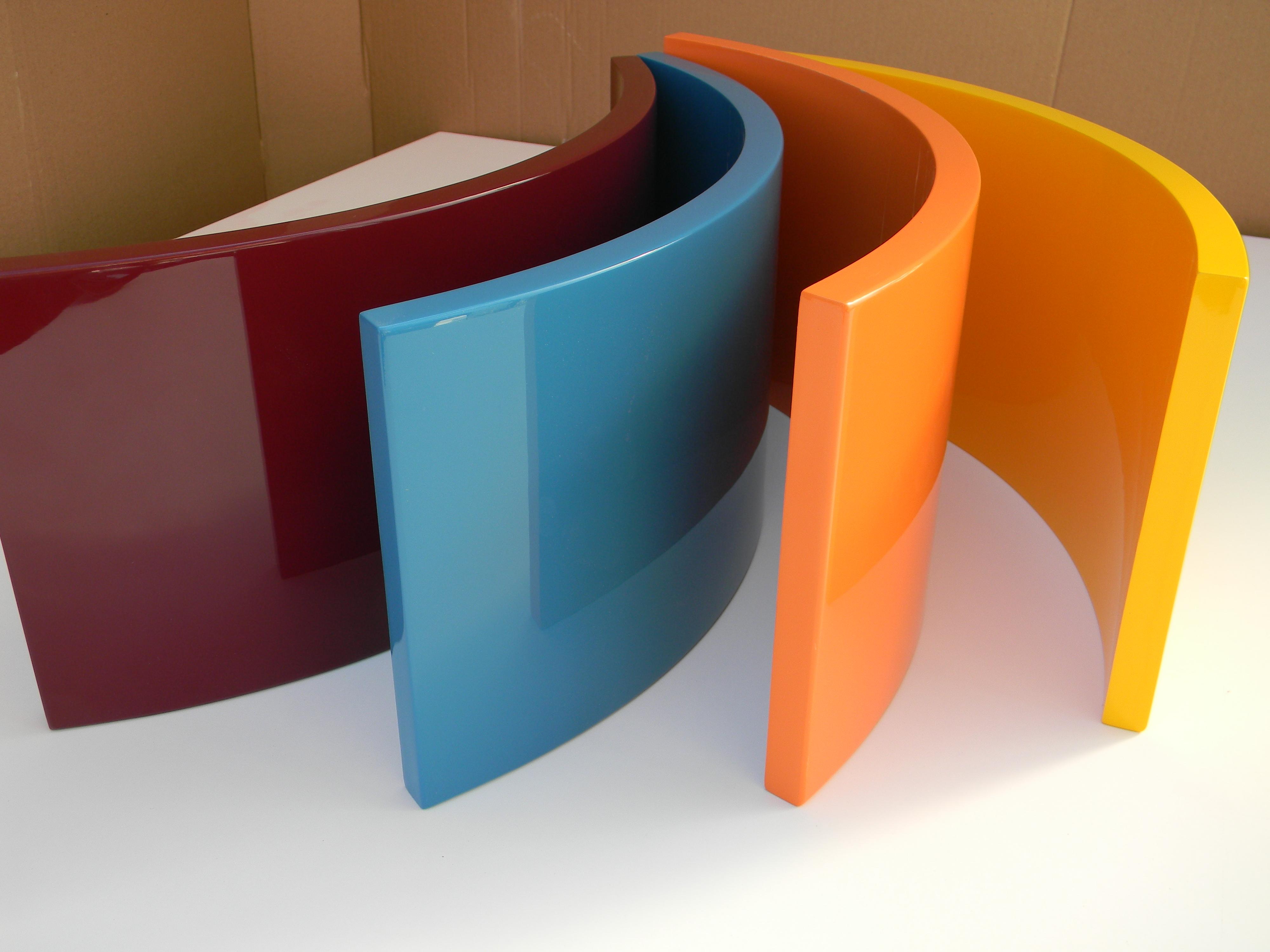 Fronturi curbate MDF diverse culori