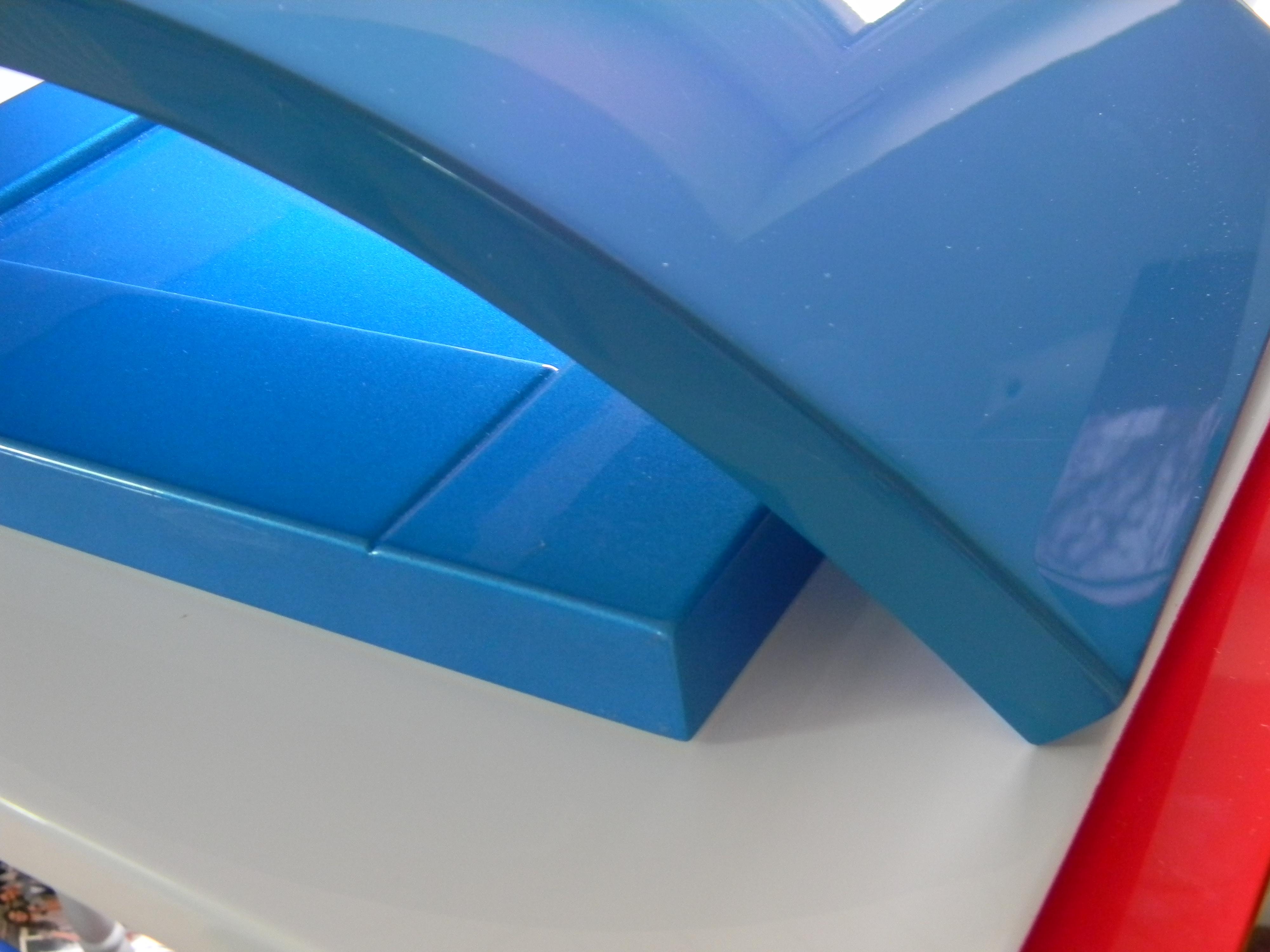 Fronturi MDF albastre
